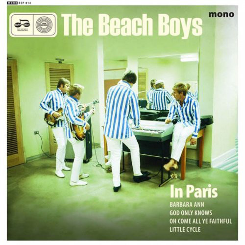 Pochette Beach Boys in Paris EP