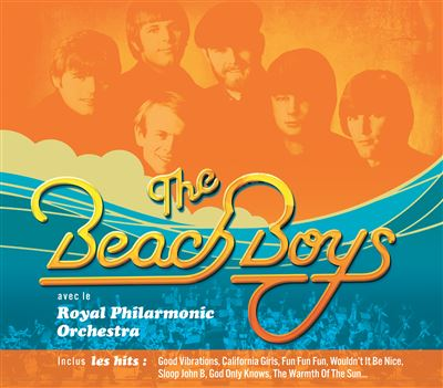Pochette Beach Boys & Royal Philarmonic Orchestra