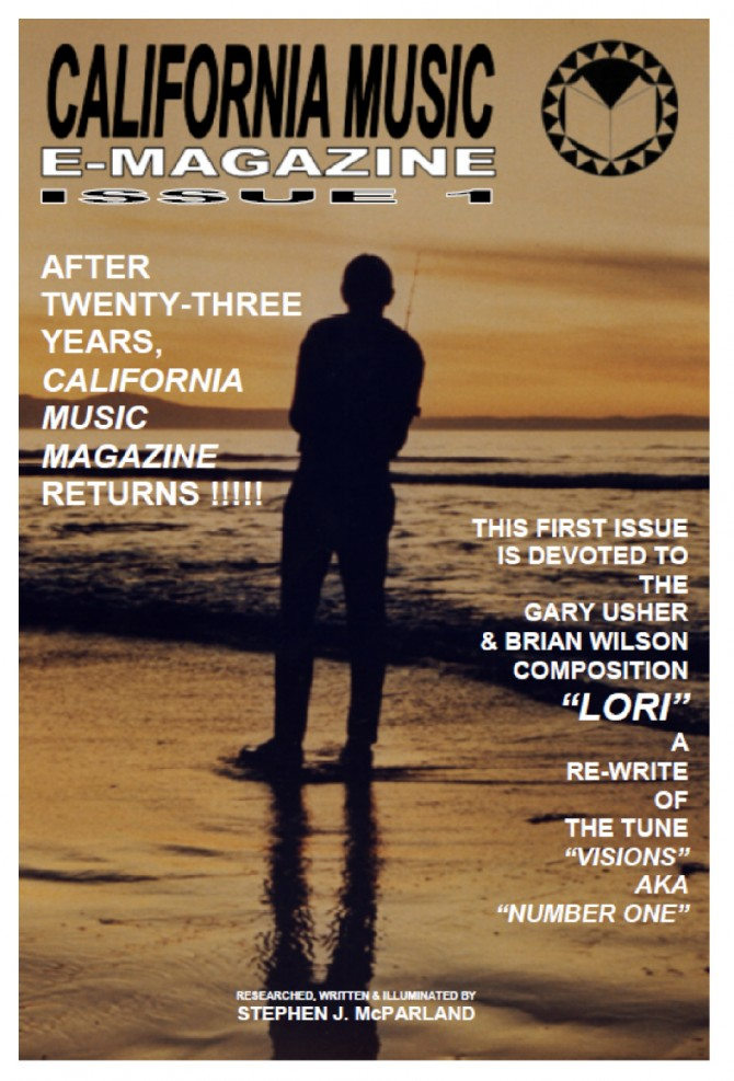 Couverture Magazine California Music