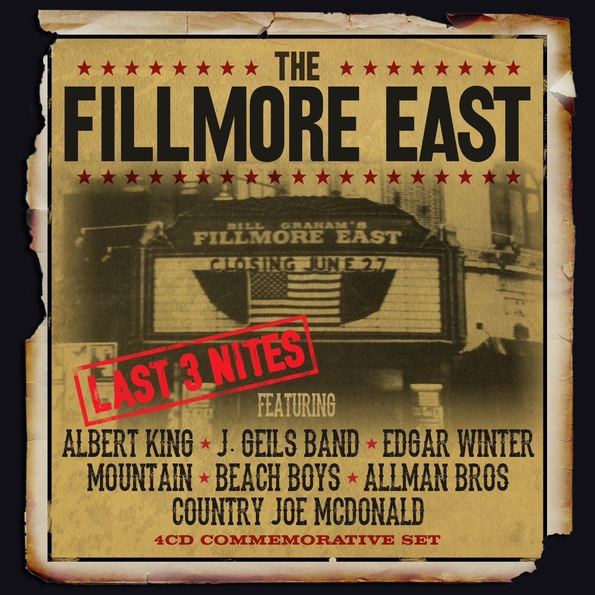 Coffret Filmore East