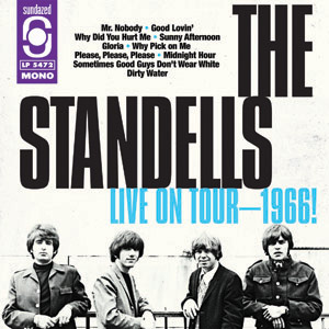 Album Live on Tour 1966 des Standells