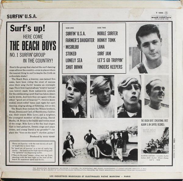 Surfin USA France 1963